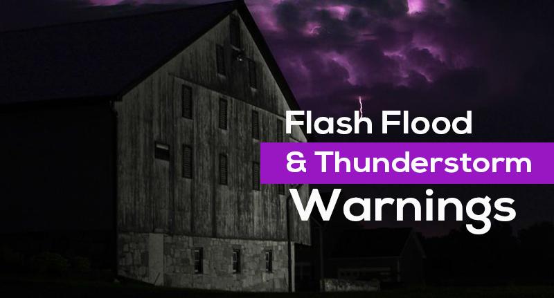 Thunderstorm Warnings
